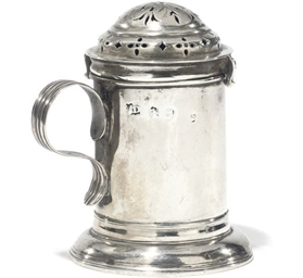 A QUEEN ANNE SILVER KITCHEN PE