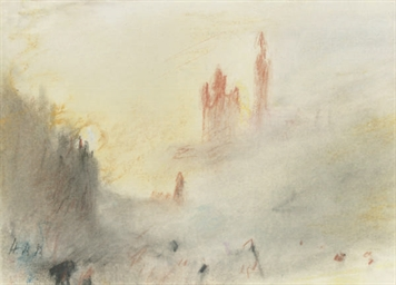 A souvenir of Turner: The Rhin