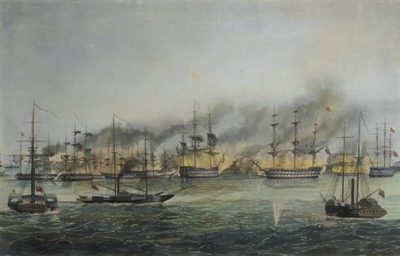 Bombardment of St. Jean d'Acre