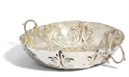A GERMAN SILVER SWEETMEAT-DISH