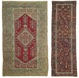 An antique Kula large rug and