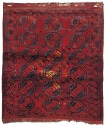 An antique Ersari carpet