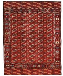 An unusual European carpet of