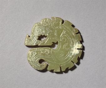 shang dynasty art jade  SHANG DYNASTY, ANYANG, CIRCA 1200