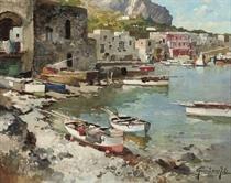 A Capri harbour