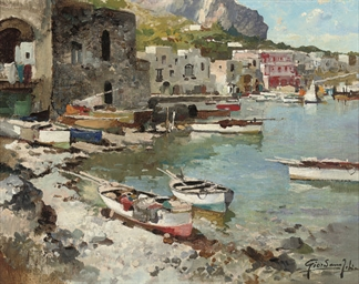 A Capri harbour