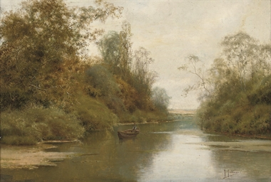 A quiet day on the river