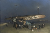 A safe landing with the Fokker F VII