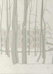 Kasteel Zijpendaal in de sneeu