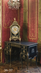 A FRENCH ORMOLU-MOUNTED EBONY