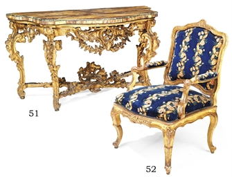 A SOUTH ITALIAN GILT-VARNISHED