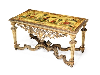 A NORTH ITALIAN GILTWOOD AND P
