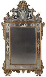 A NORTH ITALIAN GILTWOOD AND E