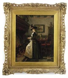 LAJOS BRUCK (HUNGARIAN, 1846-1
