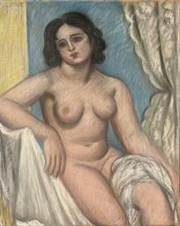 Seated Nude (Celia Dennis)