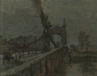 Hammersmith Bridge, Evening