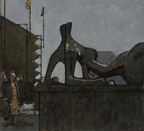 Homage to Henry Moore, Reclining Figure: Festival