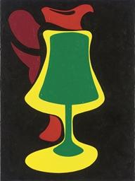 Red Jug and Lamp
