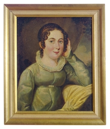 Portrait of Louisa Charlotte E