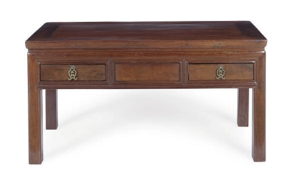 A CHINESE TIELIMU LOW TABLE,