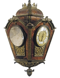 A FRENCH ORMOLU-MOUNTED FAUX T