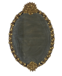 A CONTINENTAL GILTWOOD AND EBO