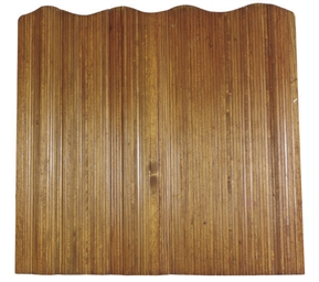 A FRENCH TAMBOUR PANEL,