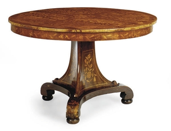 A DUTCH FRUITWOOD AND MARQUETR