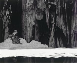 Frozen Lake and Cliffs, Sierra