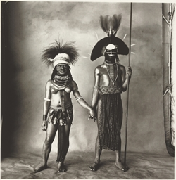 Young Enga Couple (New Guinea)