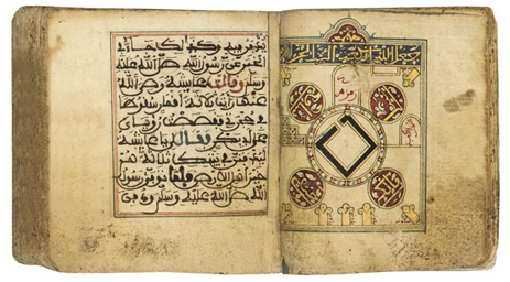A QUR'AN, NORTH AFRICA, 14TH C