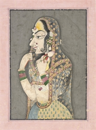 A BANI THANI STYLE PORTRAIT OF