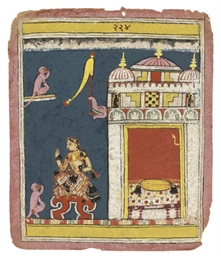 A SCENE FROM AN ILLUSTRATED RA