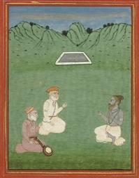 TWO FRAMED SIKH PAINTINGS, IND