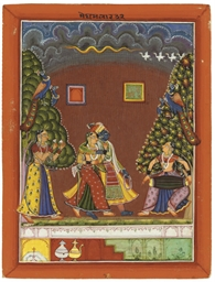 A GROUP OF INDIAN PAINTINGS, 1