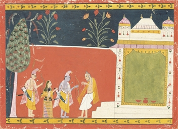 A SCENE FROM A RAGAMALA, 16TH