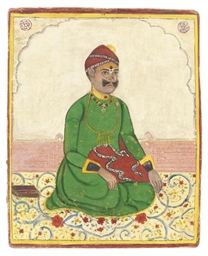 A PORTRAIT OF A NOBLEMAN, RAJA