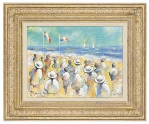 Figures on a beach; and Anothe