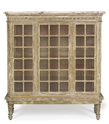 A FRENCH GILTWOOD VITRINE