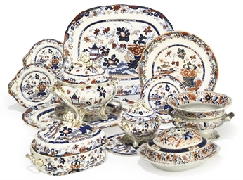 A MINTON 'AMHERST JAPAN' PATTE