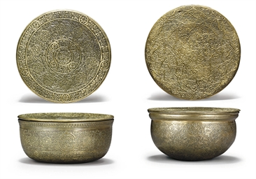 TWO VENETO-SARACENIC SILVER IN
