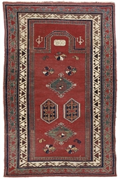 A KASAK PRAYER RUG