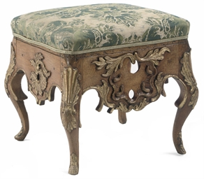 A DANISH PARCEL-GILT AND BEECH