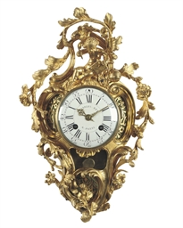 A LATE LOUIS XV ORMOLU STRIKIN