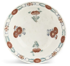 A Japanese kakiemon bowl