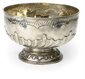 An English Victorian silver ro