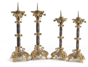 A PAIR OF NORTH GERMAN ORMOLU