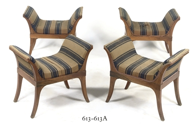 A PAIR OF GERMAN BIEDERMEIER W
