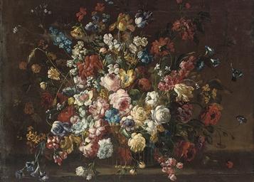 Tulips, roses, camelias, aneno