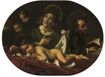 The dream of the Infant Saint